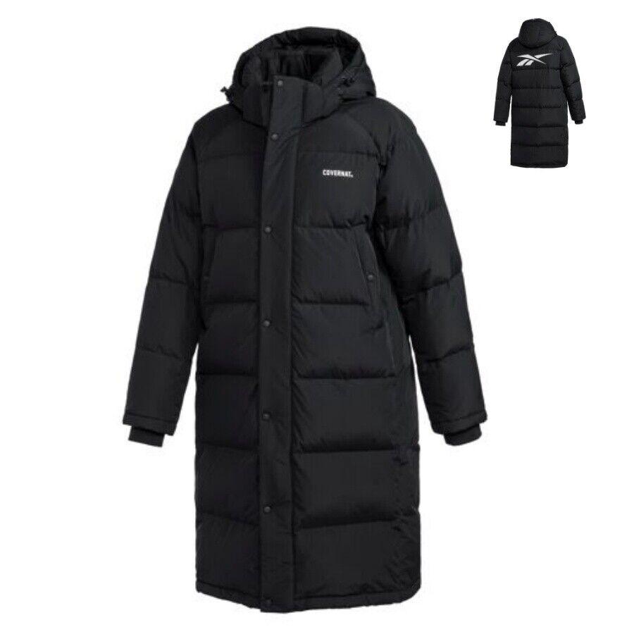 Reebok X Covernat Puffer Winter Down Heat Jacket  Black DX70