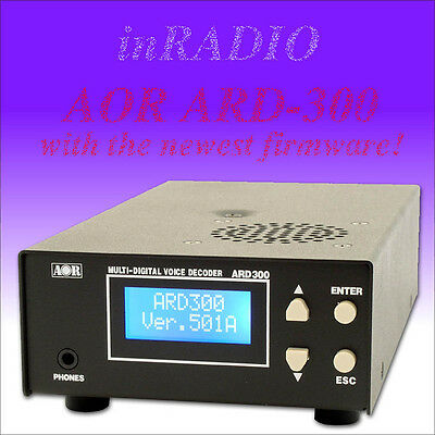 AOR ARD300 DIGITAL VOICE DECODER ARD-300 FOR AR8600 D-STAR NXDN DMR P25 DIGITAL for sale  Poland