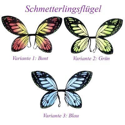 SCHMETTERLING FLÜGEL KINDER Karrneval Fasching Elfe Fee Kostüm - Schmetterling Flügel Kostüme Kinder