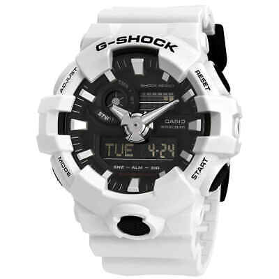 BRAND NEW CASIO G-SHOCK GA700-7A  WHITE ILLUMINATOR ANA-