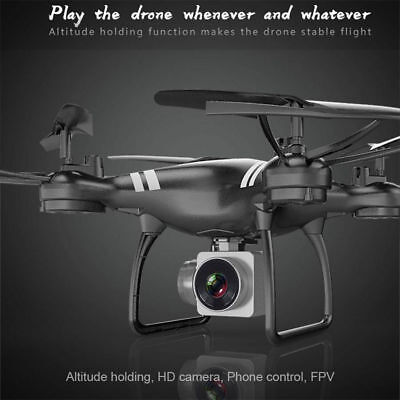 2.4Ghz Wifi APP FPV RC Drone Headless Altitude Hold KY101 HD Camera Quadcopter