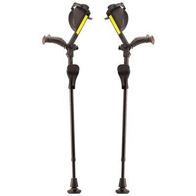Crutch Grips - Ergobaum Forearm Crutches - Pair (2) Units