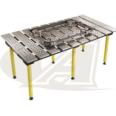 Buildpro 6.5 1.98m X 3 Welding Table 36 High - Standard Finish