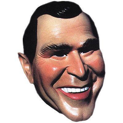 PRESIDENT GEORGE W BUSH JR POLITICAL LATEX VINYL REPUBLICAN COSTUME MASK - Political Mask