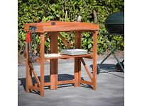 BBQ workstation by plant theatre