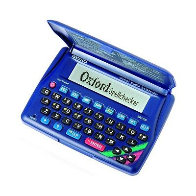 Seiko Oxford English Spellchecker pocket for crosswords ER1-100