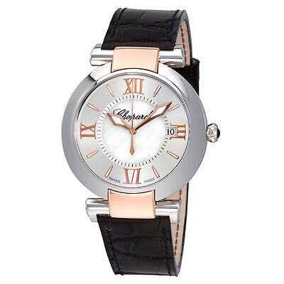 Chopard Imperiale 18kt Rose Gold and Steel Ladies Watch 388532/6001