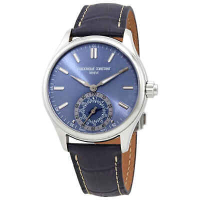 Frederique Constant Light Blue Dial Men's Horological Smartwatch Men's