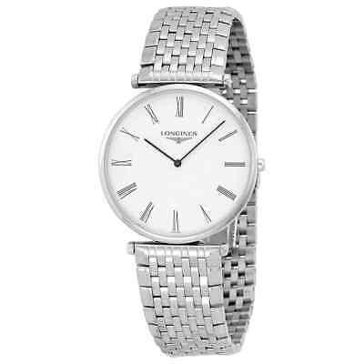 Longines La Grande Classique White Dial Stainless Steel Men's Watch L47664116