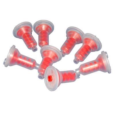 - Dynamic Dental Impression Material Mixing Tips Red Penta System Pkg/50