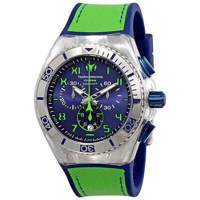 TechnoMarine Cruise California Chronograph Blue Dial Mens Watch 115011