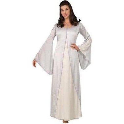 Damen Erwachsene Herr der Ringe Weiß Arwen Kostüm