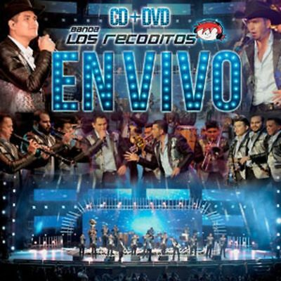 Banda Los Recoditos En Vivo Vol 1 CD + DVD 602567510031 NOW SHIPPING!