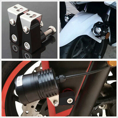 ONE PAIR HIGH QUALITY ALLOY MOTORCYCLE ATV SPOT LIGHTS MODIFIED BRACKE