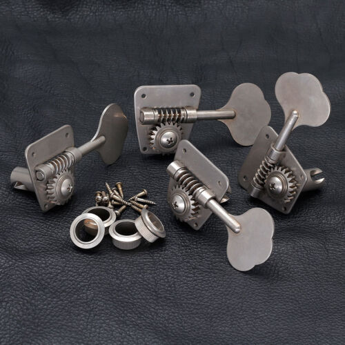 GOTOH FB30 RELIC 4 In-Line Bass Tuners for Vintage Fender - AGED NICKEL