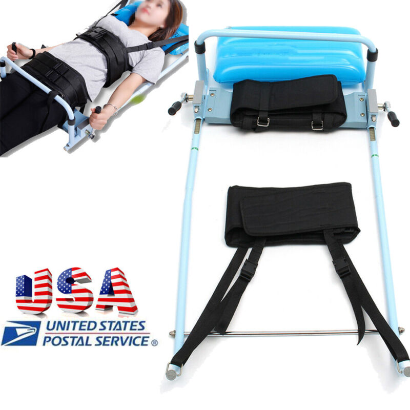 Cervical Spine Lumbar Traction Unit Therapy Bed Spine Cervical Massage 800N/200N