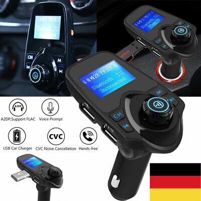 Wireless Bluetooth KFZ FM Transmitter MP3 Player Radio Adapter 2 USB-Ladegerät Bluetooth-adapter, Mp3-player