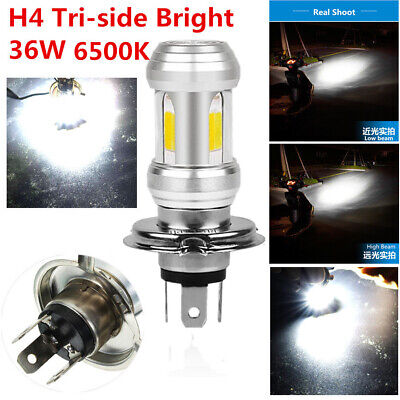 36W 6500K H4 LED Headlight Bulb Universal For Motorcycle Moped Scooter Light