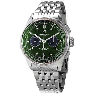 Breitling Premier Bentley Chronograph Automatic Green Dial Men's Watch