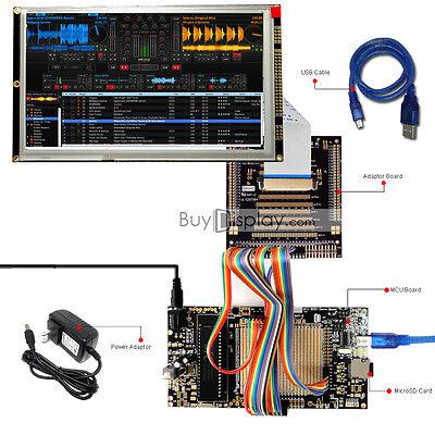 8051 Microcontroller Development Board Kit Usb Programmer For 8tft Lcd Module