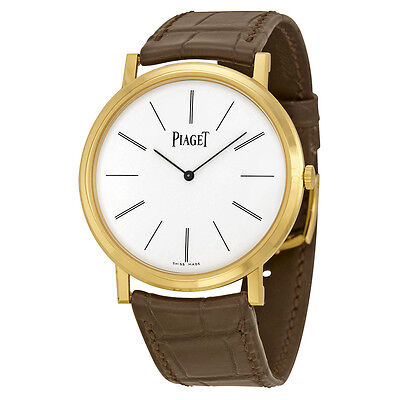 Piaget Altiplano Mechanical White Dial Mens Watch G0A29120