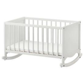 Brand new IKEA cradle cot
