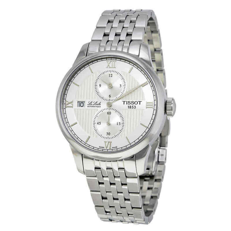 Tissot Le Locle Automatic Silver Dial Men Watch T006.428.11.038.02