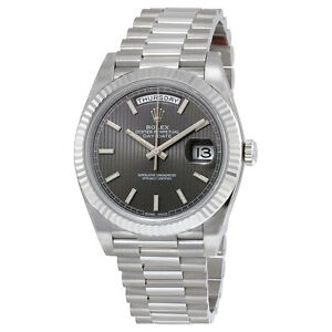 Rolex Oyster Perpetual Day Date Watch 228239RSSP