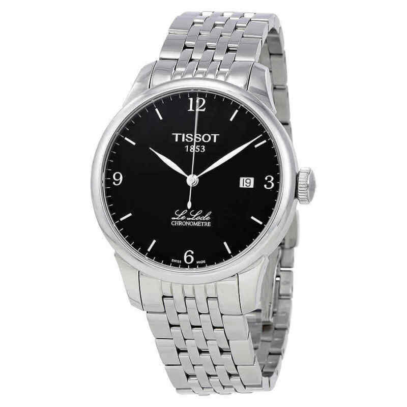 Tissot Le Locle Chronometre Automatic Black Dial Men Watch T006.408.11.057.00