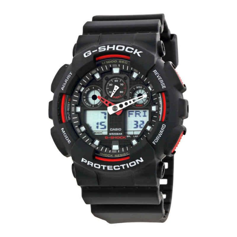 Casio-G-Shock-Black-Resin-Strap-Men-Watch-GA100-1A4