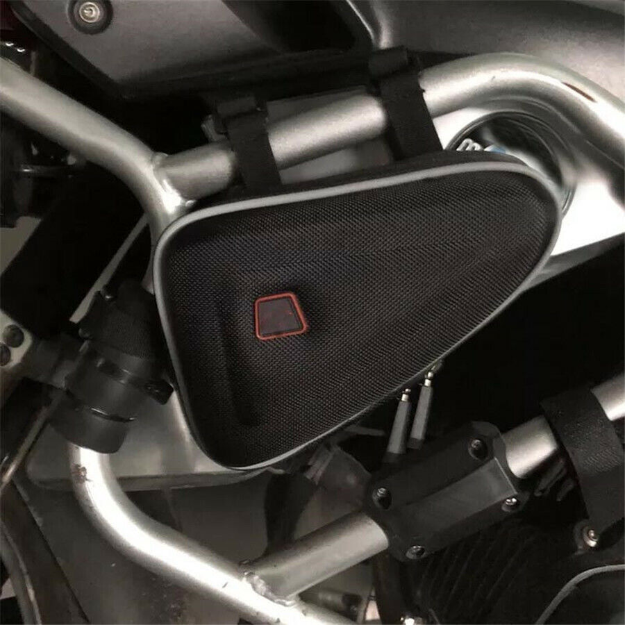 ::Triangle Storage Bag Tool Packbag For Motorcycle Engine Guard Protector Frame
