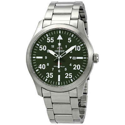 Orient Flight Green Dial Men's Watch FUNG2001F0