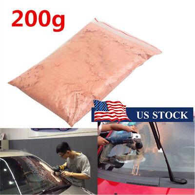 200g Cerium Oxide Glass Polishing Powder Scrach Repair Remover For Car Window US