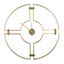 Cooper Classics Meghan Wall Clock, Shimmering Gold - 41498