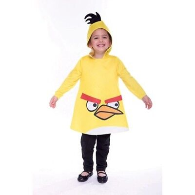 Halloween Angry Birds Yellow Bird Toddler Costume Size 2T - Angry Bird Toddler Costume