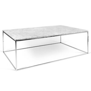 806ca7fef699 Elte Marble Rectangular Coffee table