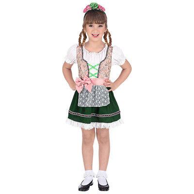 OKTOBERFEST BAYERIN KOSTÜM KINDER Karneval Fest Kleid Dirndl Tracht Mädchen - Kind Oktoberfest Kostüm