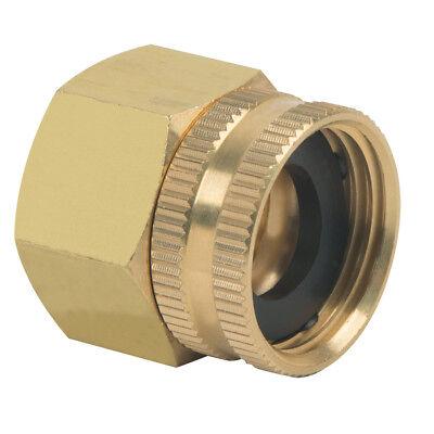 Brass Craft 3/4-in x 3/4-in Threaded Female Swivel Garden Hose Adapter FIP End
