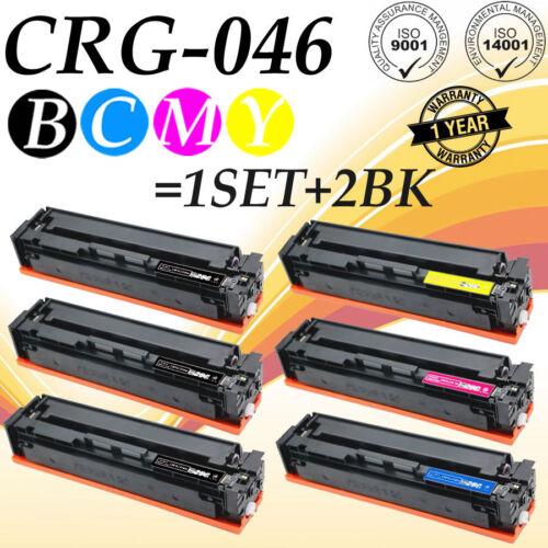 5-PACK Toner SET for Canon 046H imageCLASS MF735Cdw MF733Cdw MF731Cdw LBP654Cdw
