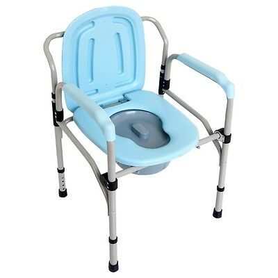 Toilettenstuhl WC-Stuhl Nachtstuhl Toiletten-Sitz WC-Eimer Toilette verstellbar