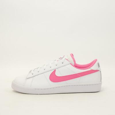 Junior Nike Tennis Classic (GS) White/Pink Trainers (NF1) RRP £49.99