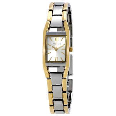 Anne Klein Silver Dial Ladies Watch 10-6419SVTT
