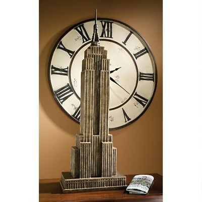 Empire Bronze Finish (New York City Empire State Building Resin Bronze Finish 38