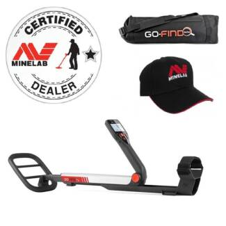 Minelab Go-Find 40 Metal Detector with Free Carry Bag & Cap