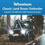 MrWheelson Land Rover Defender v.a. € 52.000 of € 695 lease
