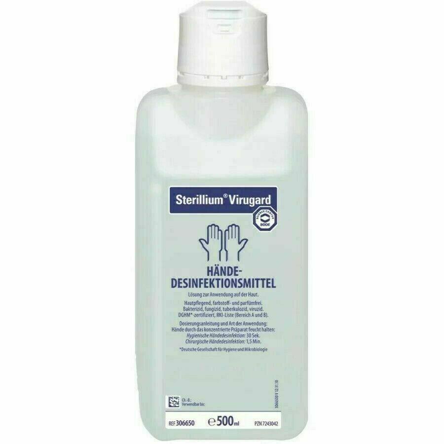 Bode Sterillium Virugard 500ml | Viruzid | Händedesinfektionsmittel