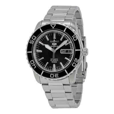 Seiko 55F Automatic Black Dial Men's Watch SNZH55