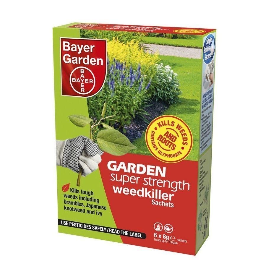 Bayer Super Strength Glyphosate 6 Sachet Weed Killer