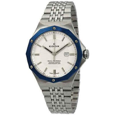 NEW Edox Delfin Ladies Quartz Watch - 54004 3BUM AIN