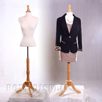 Female Small Size Mannequin Manequin Manikin Dress Form Fbswbs-01nx